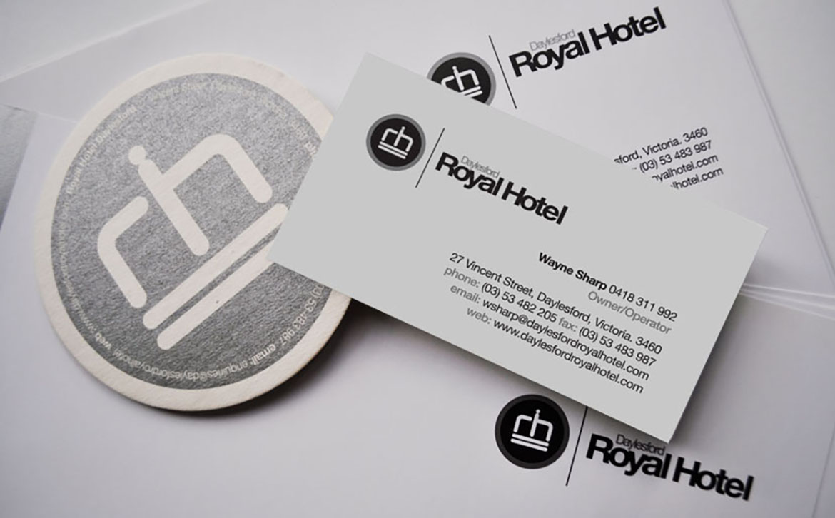 Daylesford Royal Hotel Stationery