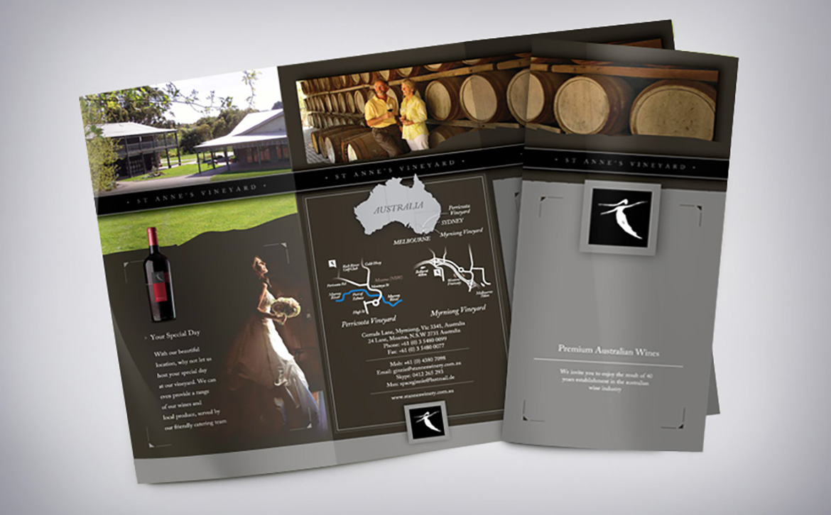 St Annes Wine Brochure