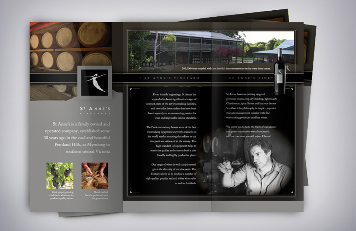 St Annes Wine Brochure Inside
